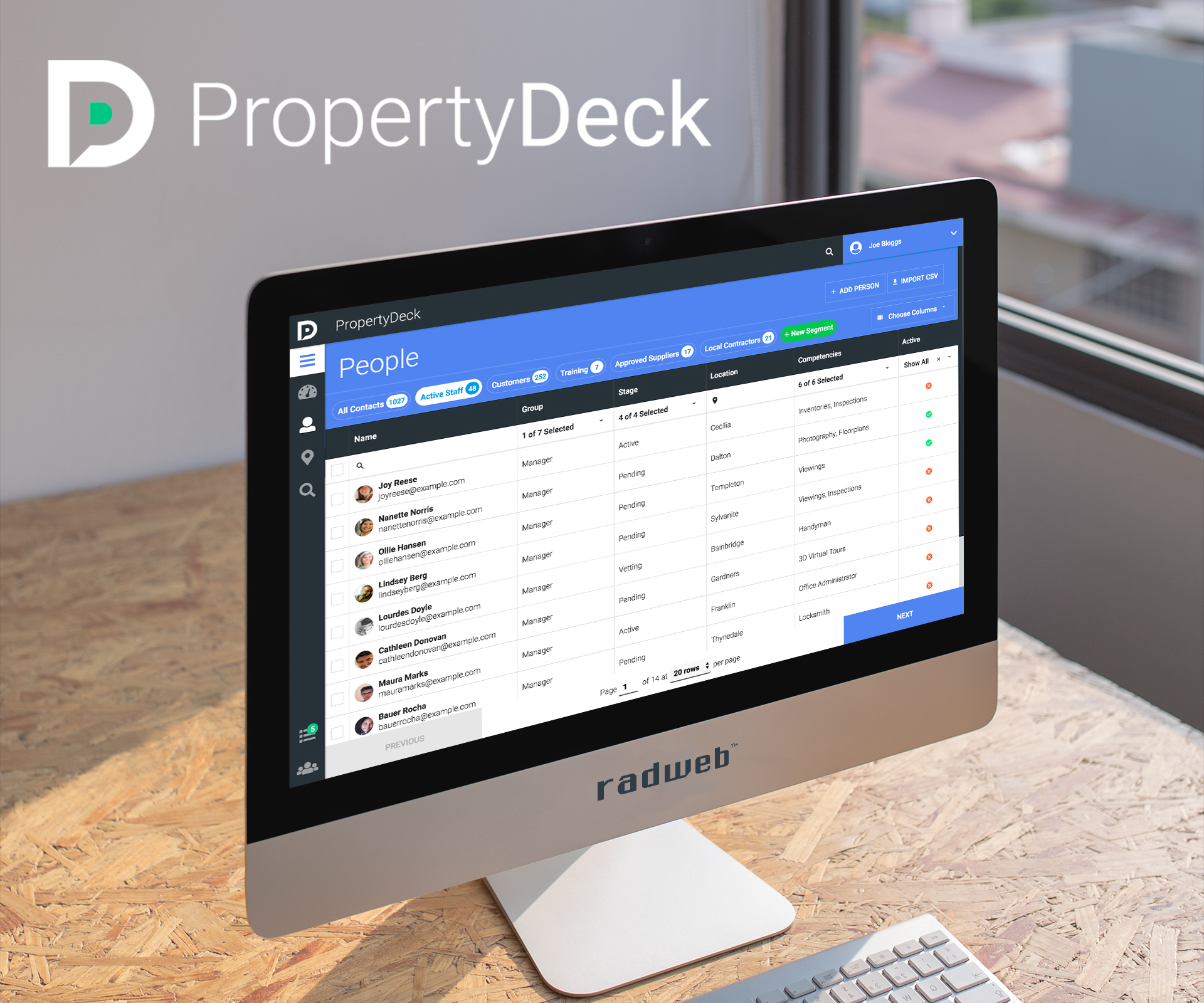 property industry crm